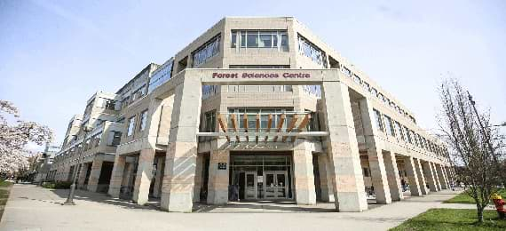 Forest Sciences Centre at UBC Faculty of Forestry