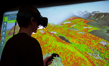 How Virtual Reality Can Aid Land-Based Resource Management and Operation Planning