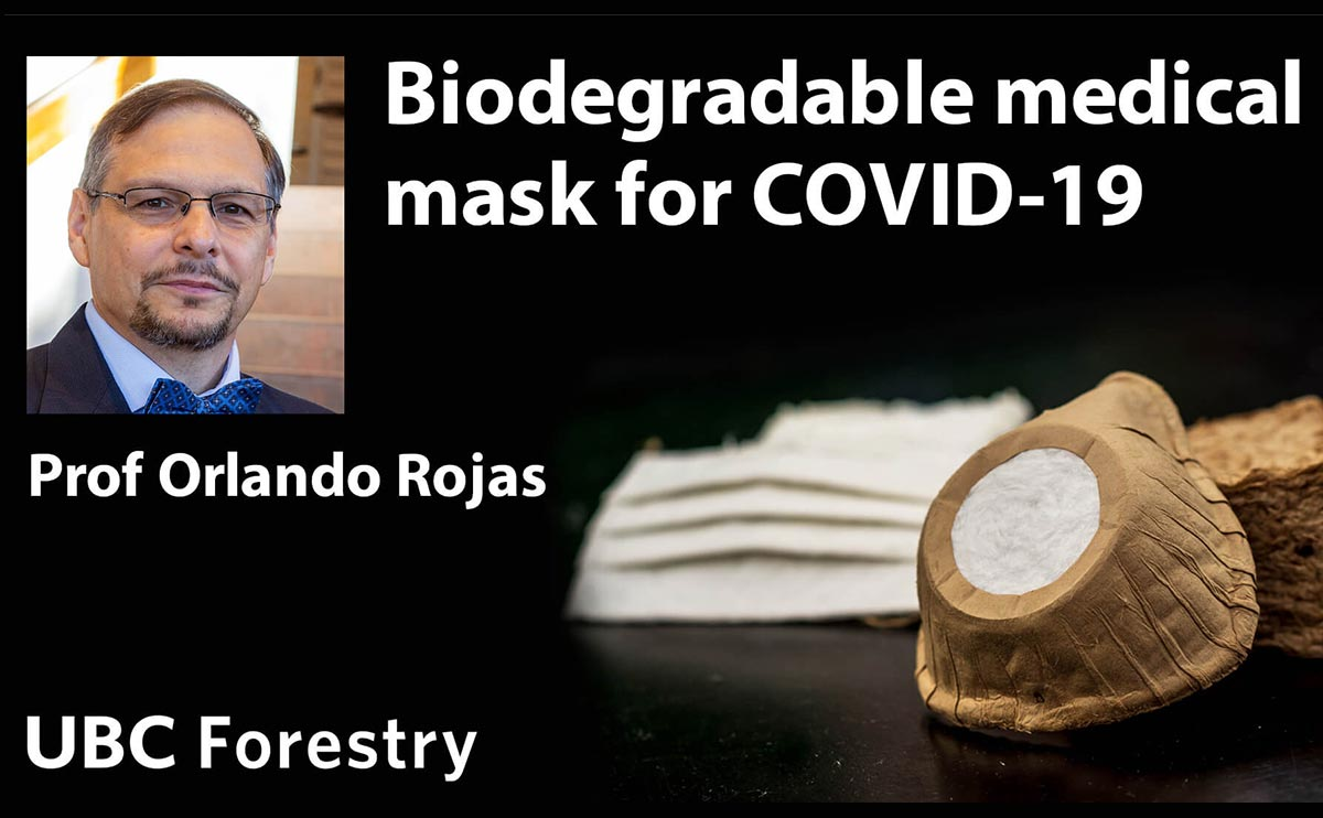 UBC Researchers Develop Biodegradable Medical Mask for COVID-19