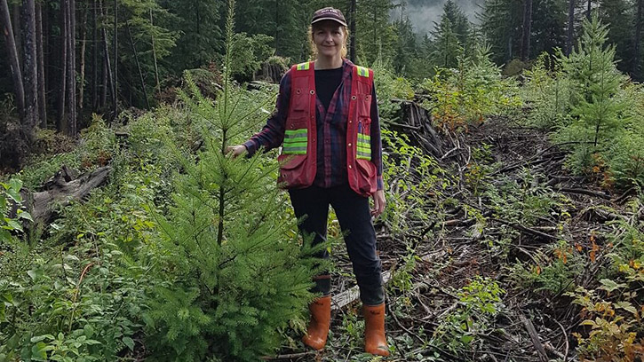 UBC Forestry's Cheryl Power Recognized for Outstanding Work in Caring for BC's Forests