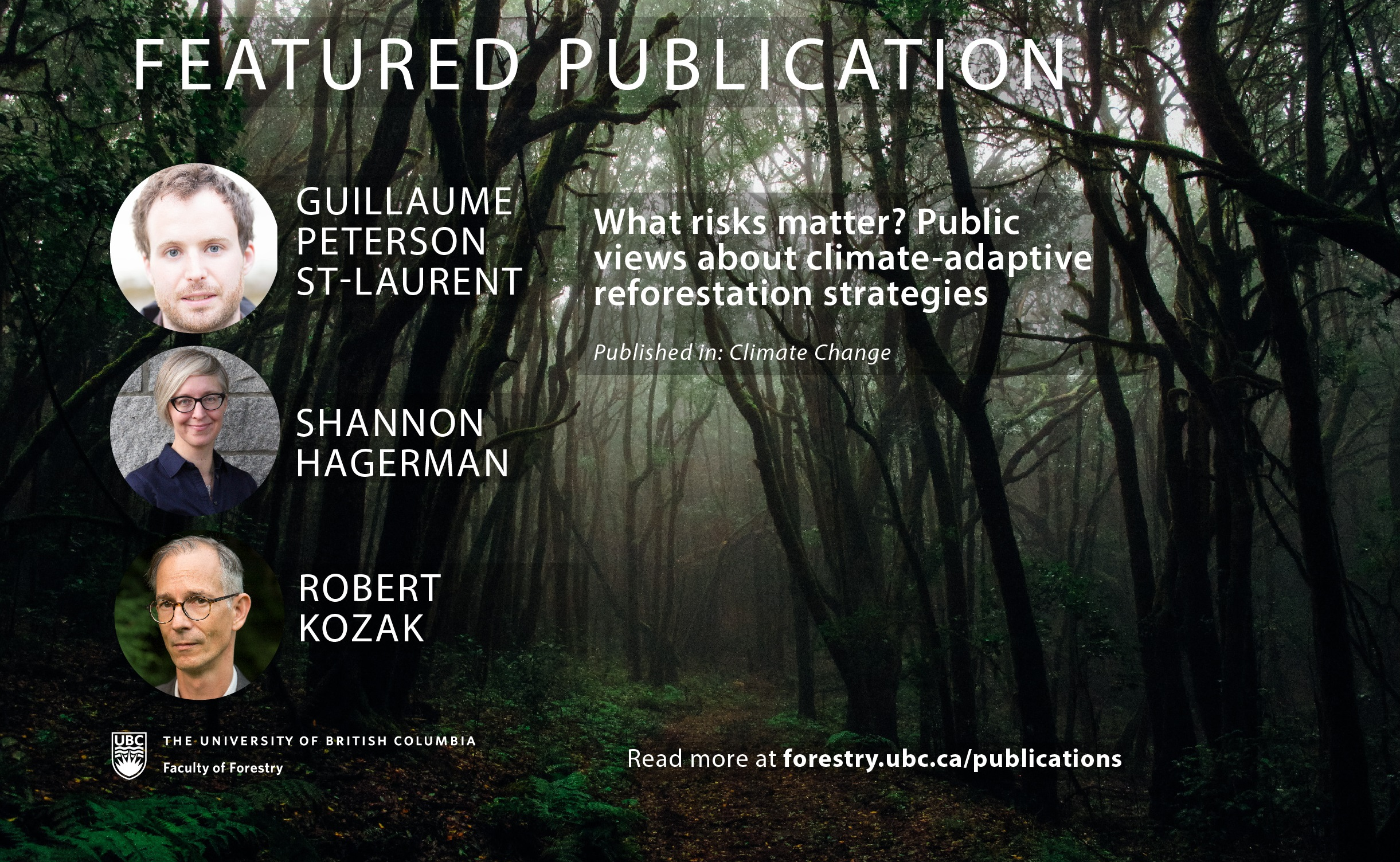 What Risks matter? Public Views About Climate-Adaptive Reforestation Strategies