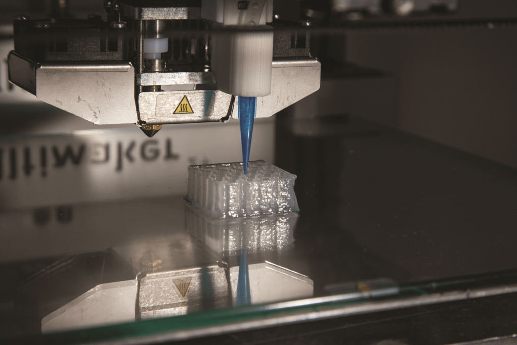 Printing cellulose honeycomb structure