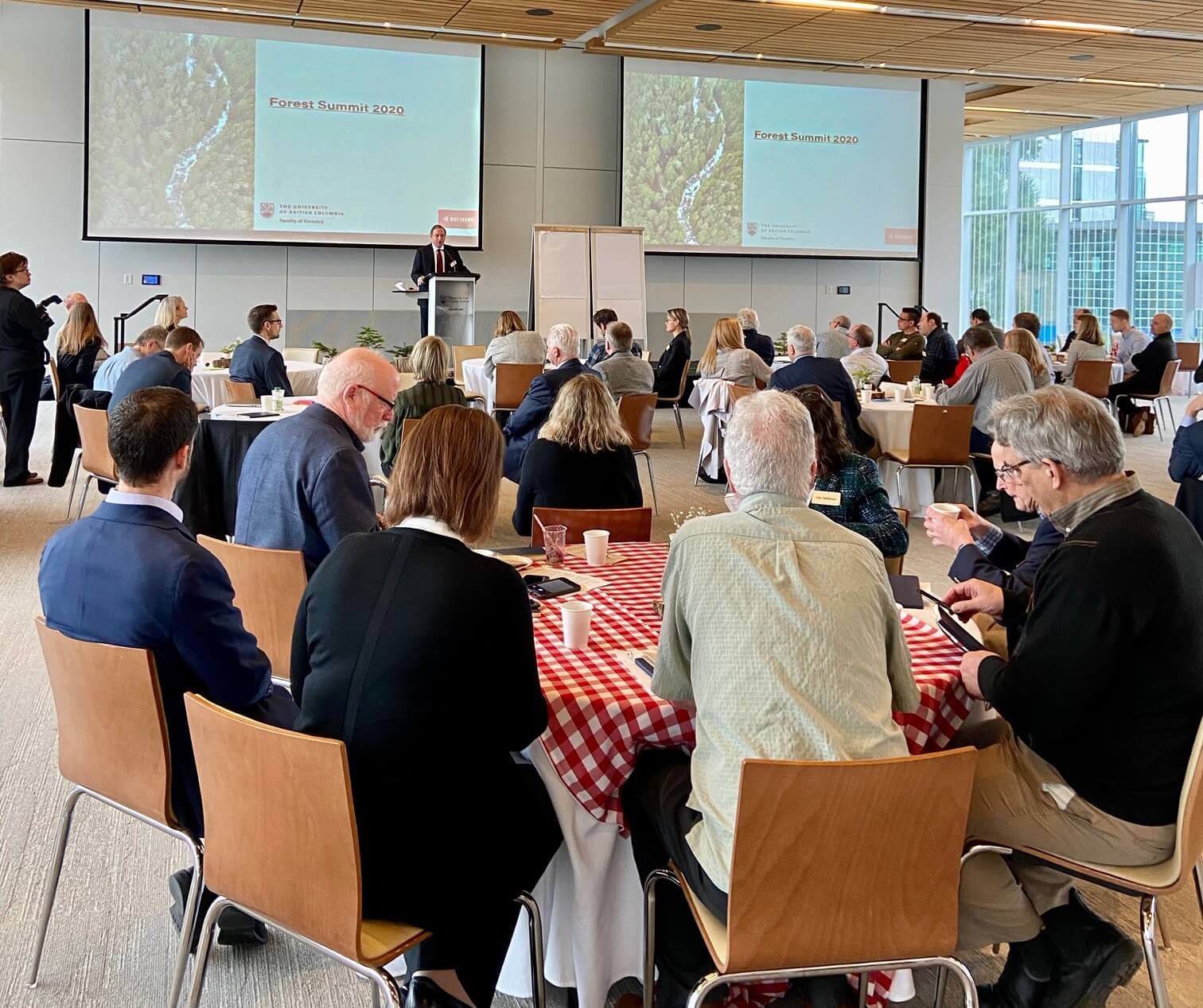 UBC Faculty of Forestry Hosts Forests Summit 2020
