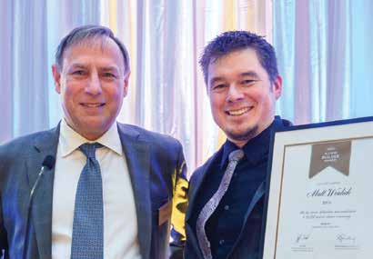 Matt Wealick Receives UBC Alumni Builder Award