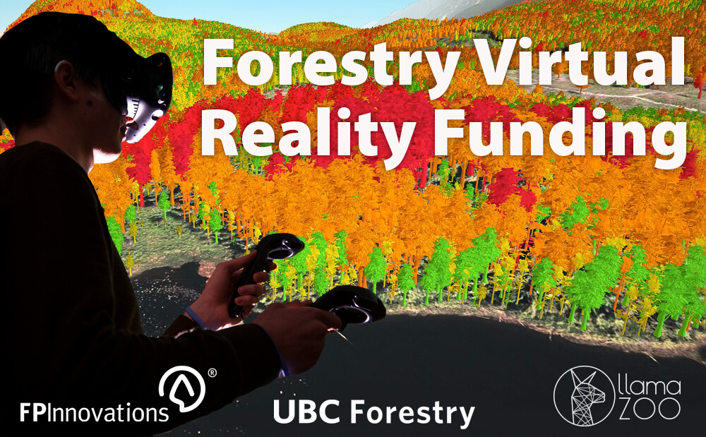 UBC Forestry Awarded Funding for Virtual Reality Planning Tool