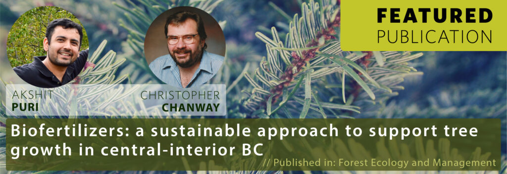 Featured Publication - Christopher Chanway and Akshit Puri | Banner