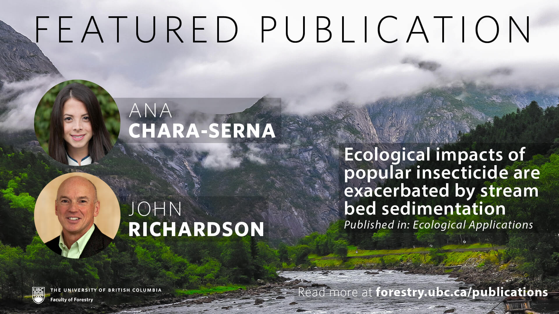 Ecological Impacts of Popular Insecticide are Exacerbated by Stream Bed Sedimentation