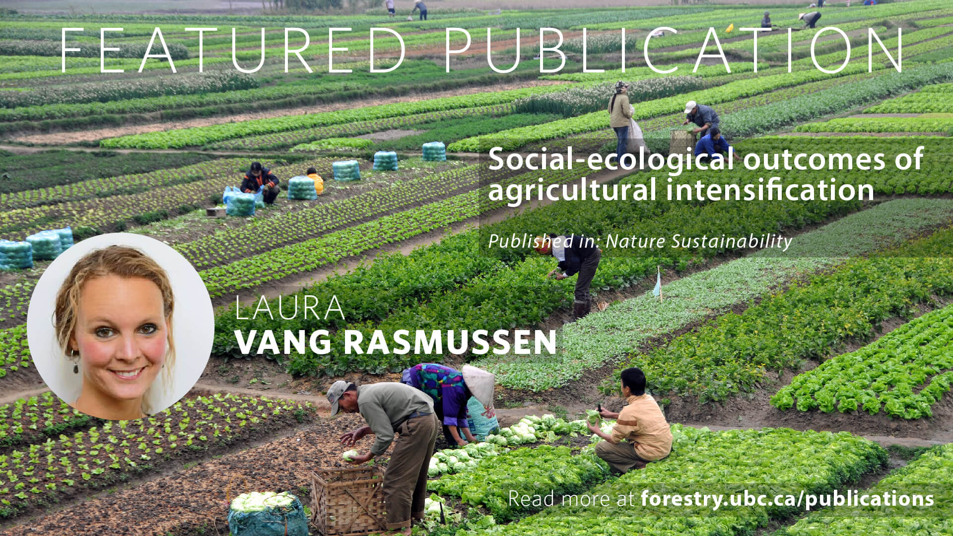 Social-Ecological Outcomes of Agricultural Intensification