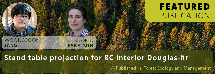 Stand Table Projection for BC Interior Douglas-fir Banner