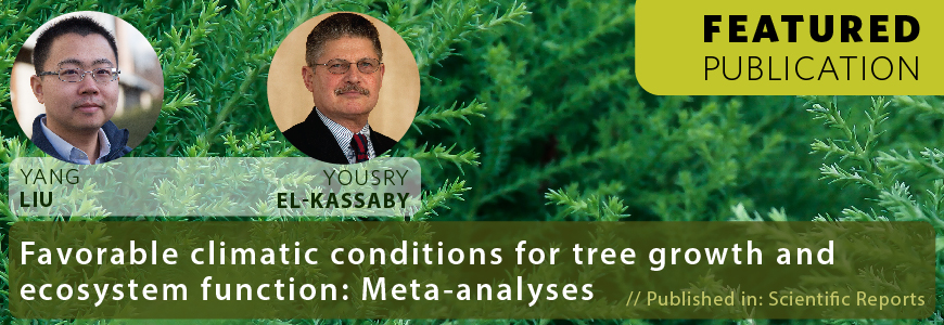 Favorable Climatic Conditions for Tree Growth and Ecosystem Function: Meta-analyses