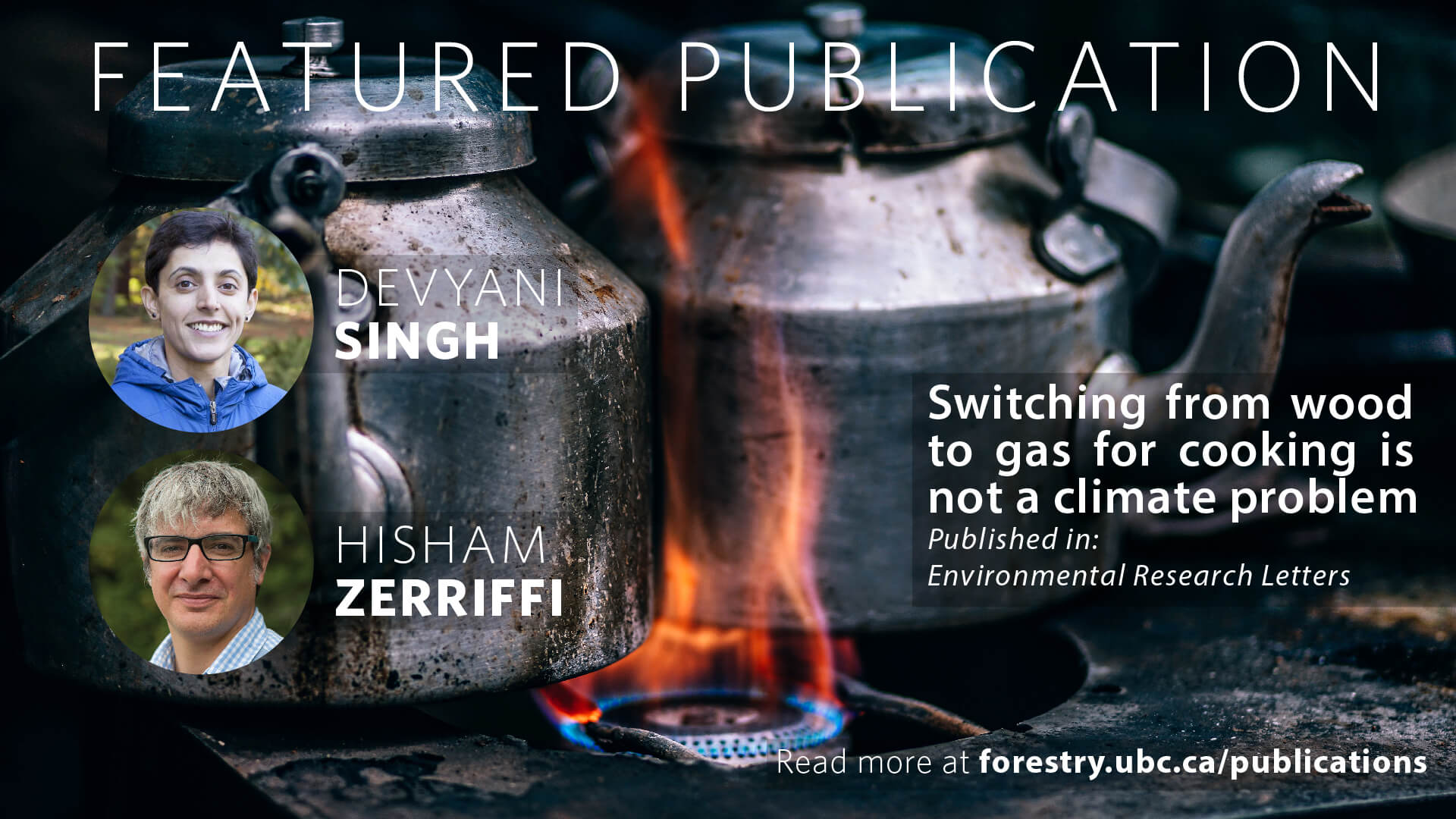 Switching from Wood to Gas for Cooking is not a Climate Problem