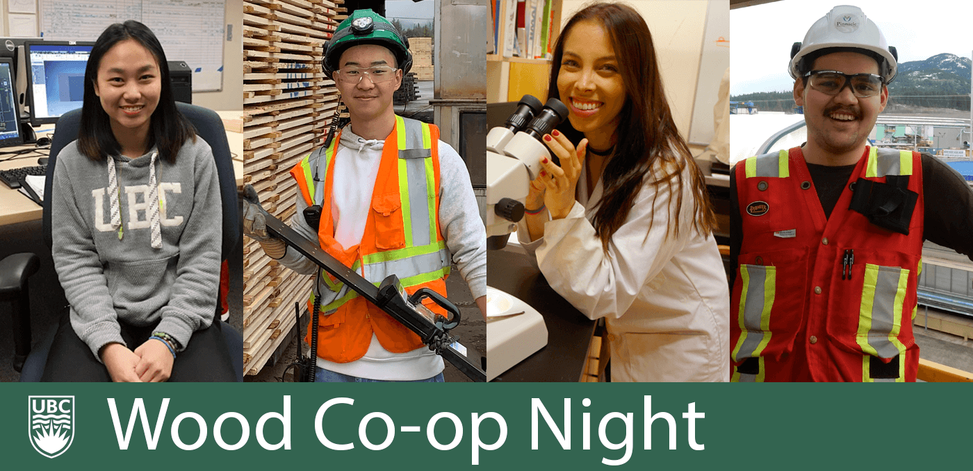 UBC Wood Products Processing Virtual Co-op Presentation Night