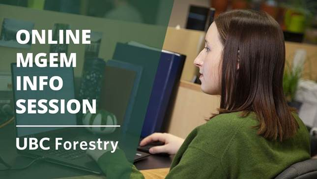Online MGEM Information Session