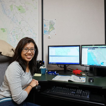 Megan Fong (Forest Sciences)