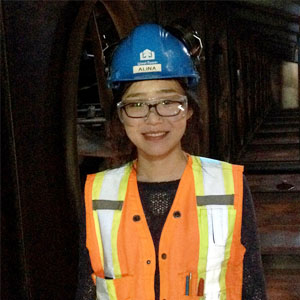 Alina (Huizi) Wang (Wood Products Processing)