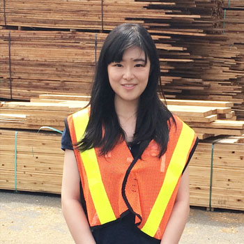 Darlene Feng (Wood Products Processing)