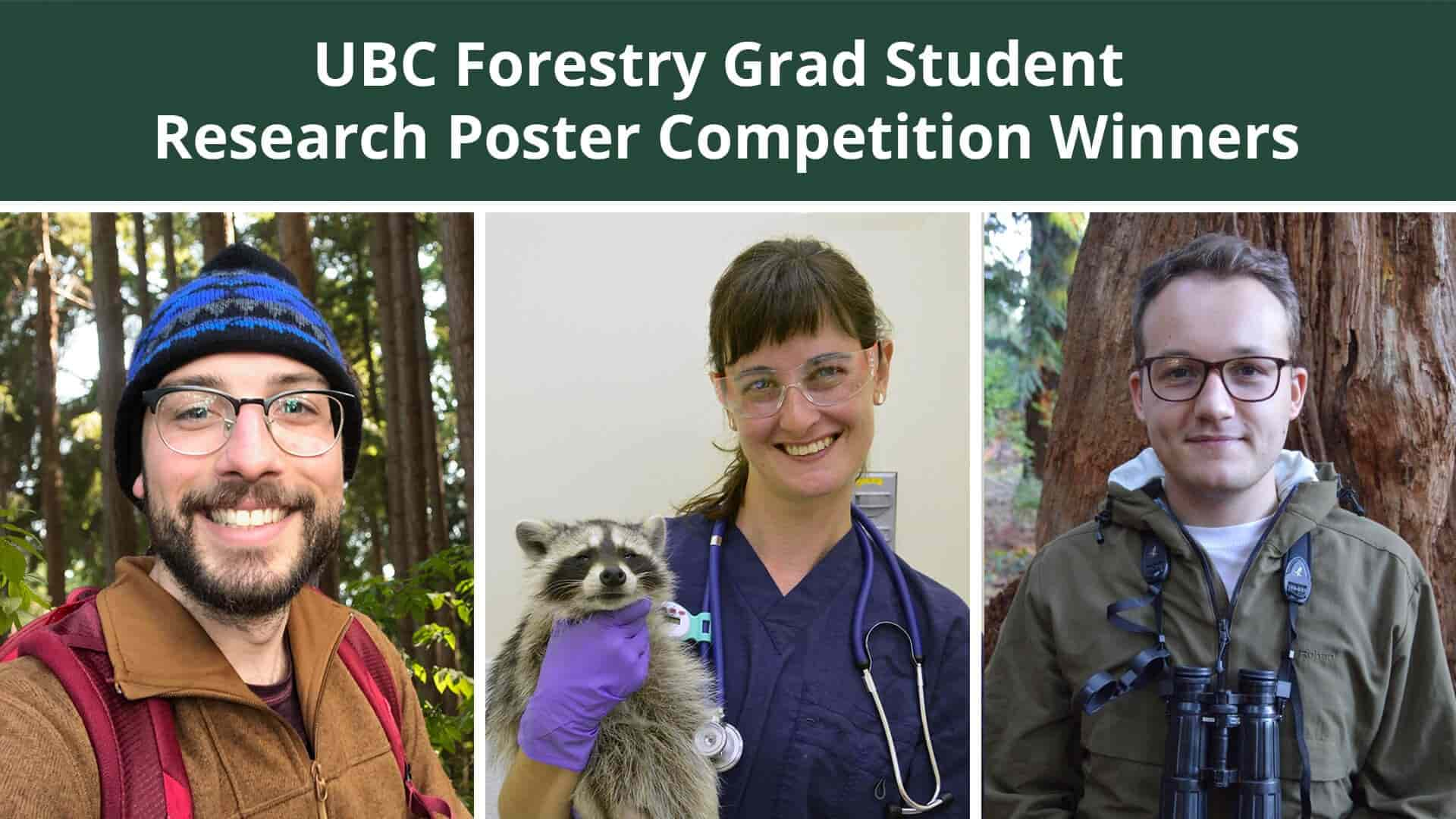 2020/21 Forestry Grad Student Research Poster Competition