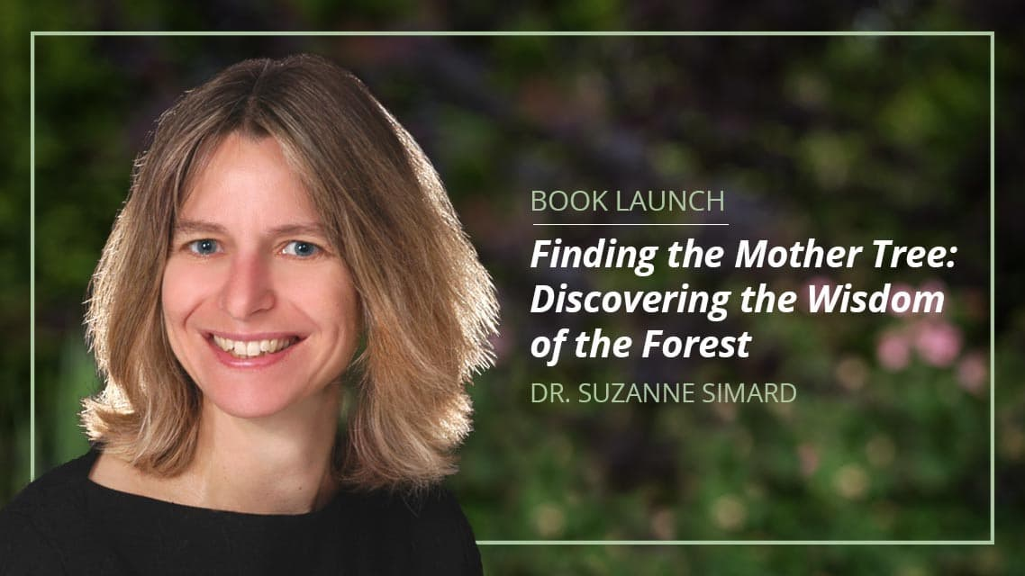 "Suzanne Simard Book ""Finding the Mother Tree: Discovering the Wisdom of the Forest"" Releasing Worldwide This Spring"